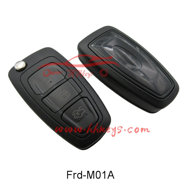 Ford Focus 3 Buttons Modified Flip Key Shell