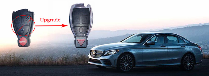 New Modification Shell for Benz Old Type Smart Key
