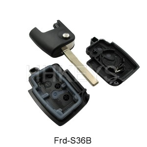 Ford Focus 3 Buttons Flip Key Shell