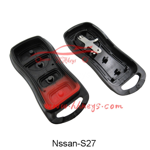 Nissan Tiida 3+1 Buttons Remote Key Case