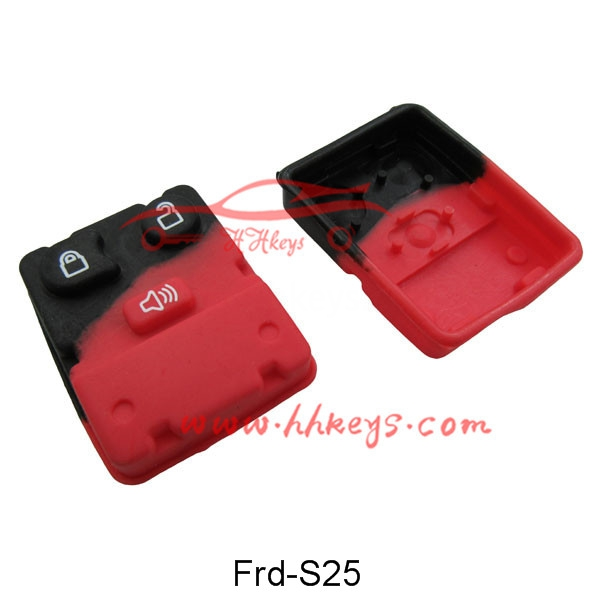 Ford 2+1 Buttons Remote Rubber pad