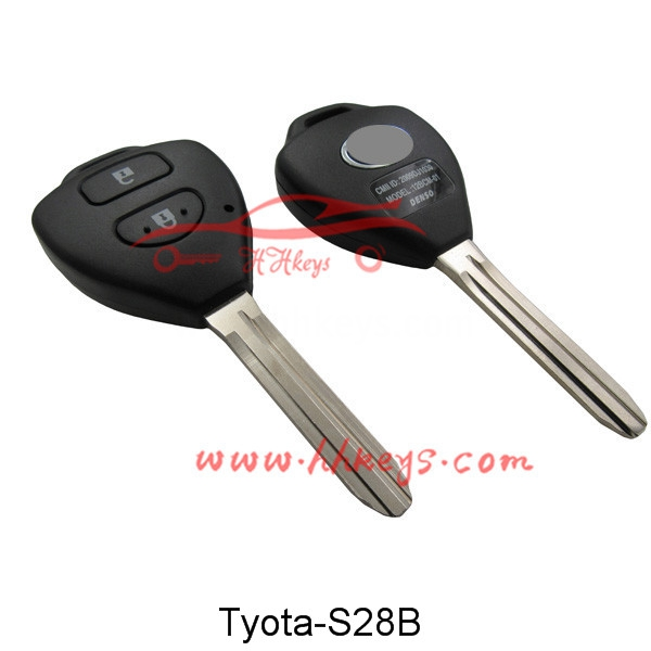 Toyota 2 Buttons Remote key shell