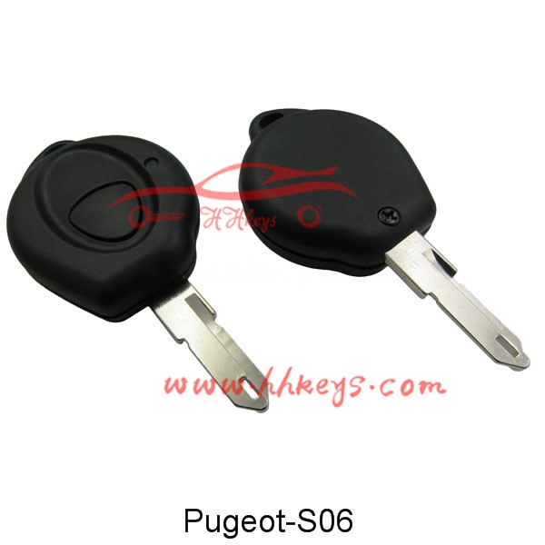 Excellent quality Auto Scanner Key Programmer - Peugeot 206 1 Button Remote Key Shell Blank – Hou Hui